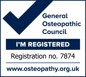 Steven Ojari registered osteopath